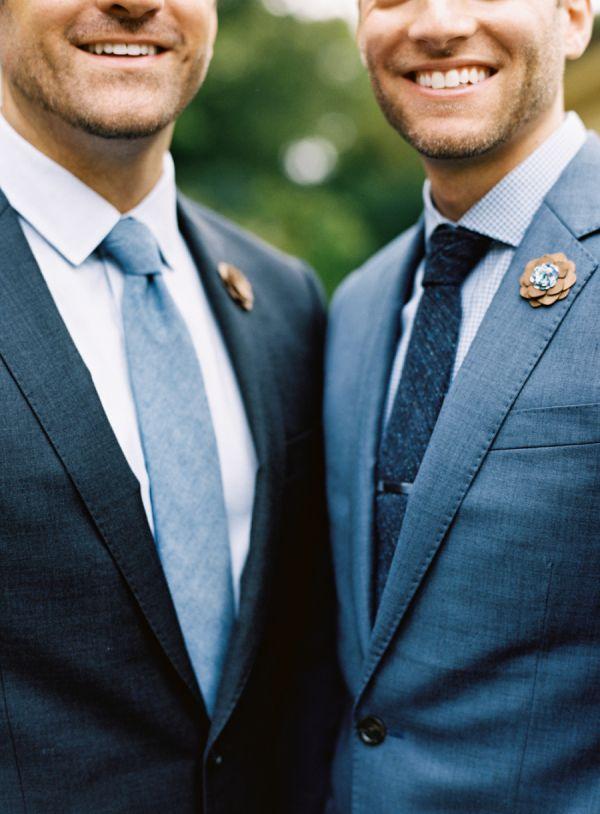 Intimate + Elegant Same-Sex Fall Wedding in North Carolina – Style Me Pretty