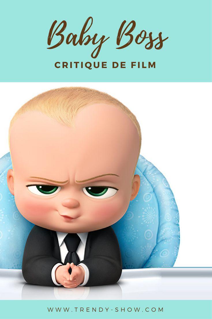 Baby Boss, un bébé en costume cravate pour un dessin animé drôle et étonnant !
