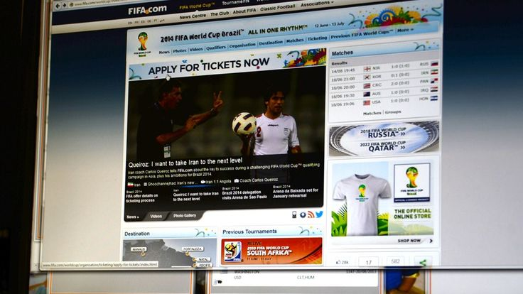 Mais de 400 mil torcedores solicitaram pelo FIFA.com uma quantidade de ingressos superior a 2,3 milhes. Brasileiros continuam disparado no topo da lista de interessados
