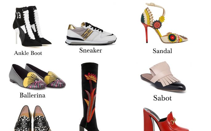 modelli di calzature femminili