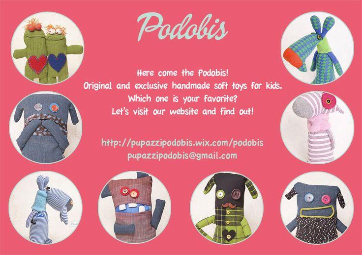 Soft toys, podobis, softies, handmadetoy, toy, puppet, for kids!