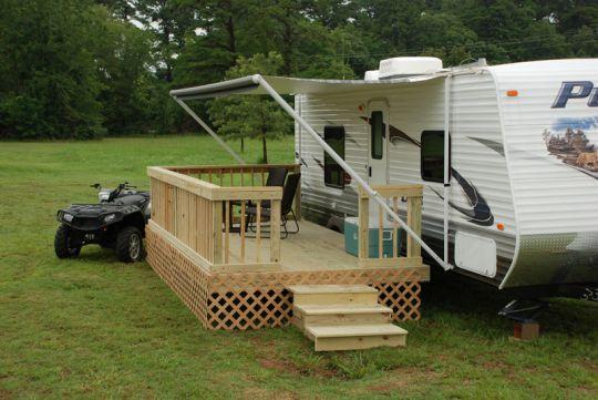 Portable Building A Deck : Best images about deck for rv on pinterest black