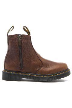 Dr. Martens Women's 2976 Chelsea Boots with Zips - Dark Brown - UK 5 https://modasto.com/dr-martens/kadin-ayakkabi/br30124ct13 #modasto #giyim