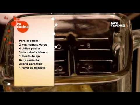 Tu Cocina (Yuri de Gortari) - Antojitos mexicanos - YouTube