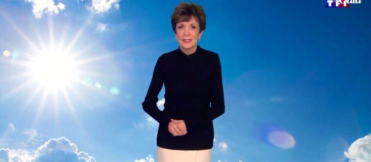 Météo: Catherine Laborde annonce en direct sur TF1 prendre sa retraite