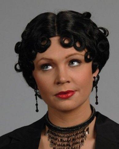Betty Boop Black Hairstyle Di 2020 Gaya Rambut Rambut
