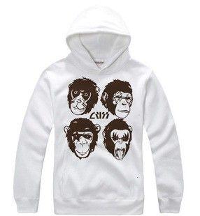 rock band  logo fabric | Kiss Rock Band monkey head logo hoodie-Kiss-Tshirtsky
