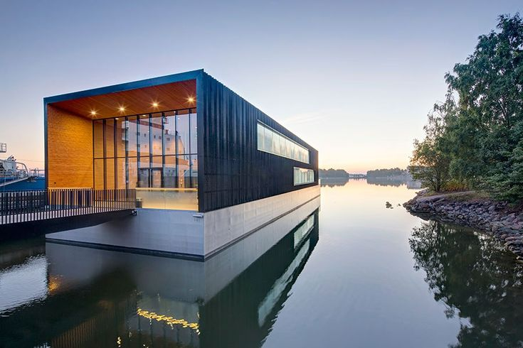 These spectacular examples of architecture all have something in common: They float!