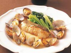 塩田 ノアさんの[たらとあさりのワインソテー]レシピ|使える料理レシピ集 みんなのきょうの料理