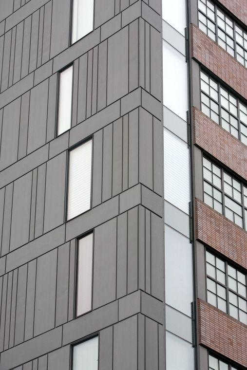 107 best images about metal facades on pinterest metal for Architecture zinc