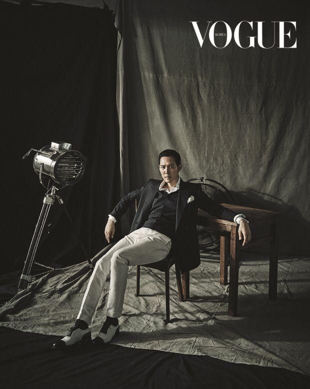 Lee Jung Jae Vogue Korea August 2015 Look 2