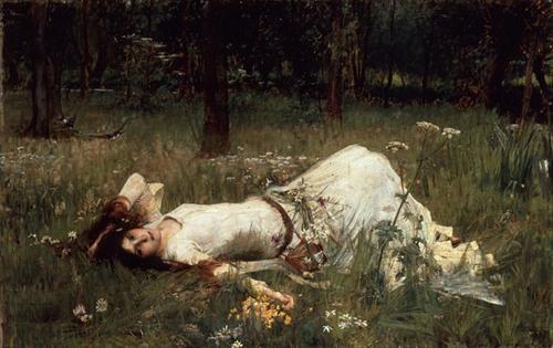 Ophelia,  John Williams Waterhouse