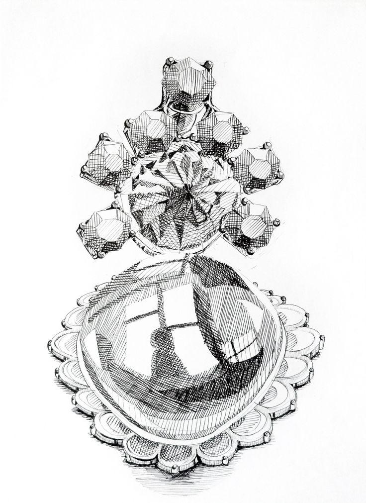 Carlota Martinez. Marcador s/ papel, 29,7 x 42 cm