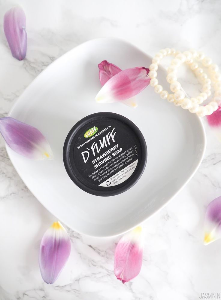LITTLE THINGS WITH JASSY: LUSH D'FLUFF SHAVING SOAP