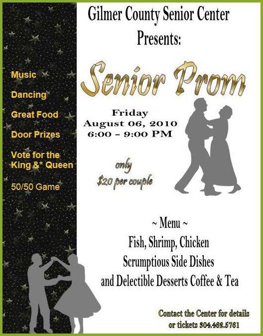 Sample High School Senior Night Program