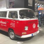 Prolight + Sound Messe 2016: VW Bus - ein Retro Fundstück