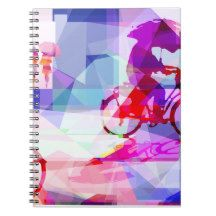 Purple rain notebook   Zazzle