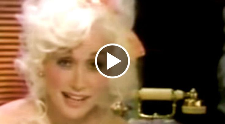 A very rare clip of Dolly Parton, back in the day, without one of her famous wigs!...
