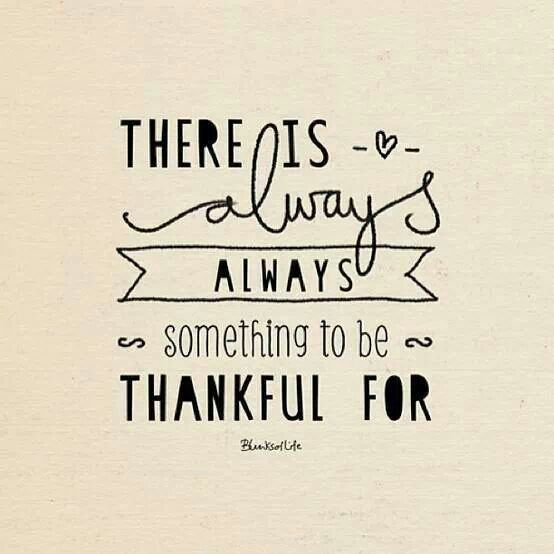 gratitude- this is so very true
