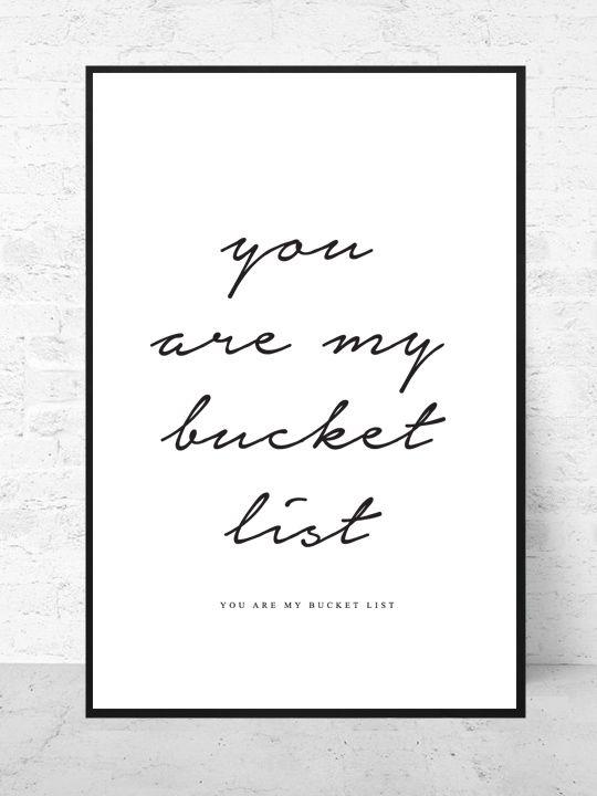 Bucket List / Art print Travel Collection  |  Starting from $37  |  #poster #art #design #interior #inspirational #graphic #gallery #quote #wall @getmercerandgrand http://www.mercerandgrand.com