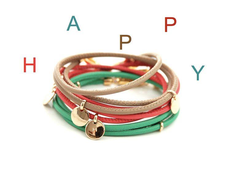 leather bracelets personalized by anna von bergmann