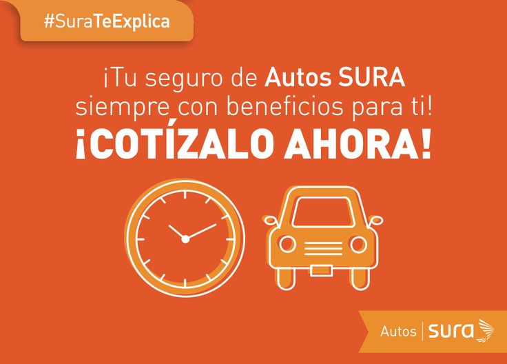 ¡#SURATeExplica cómo cotizar tu seguro de Autos SURA! Haz clic en la imagen.