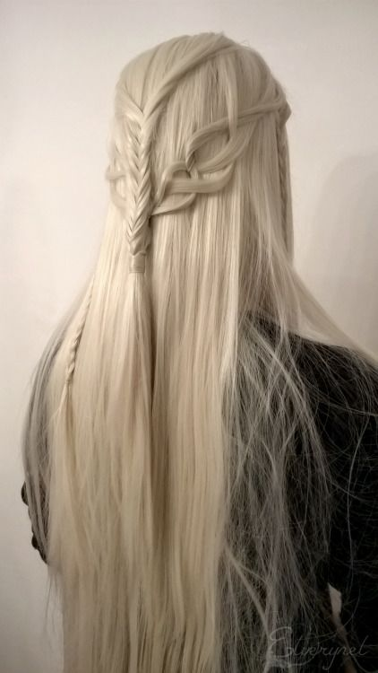 ❧ Thranduil Inspired Hairstyle. This is so perfect, so beautiful... just WOW!