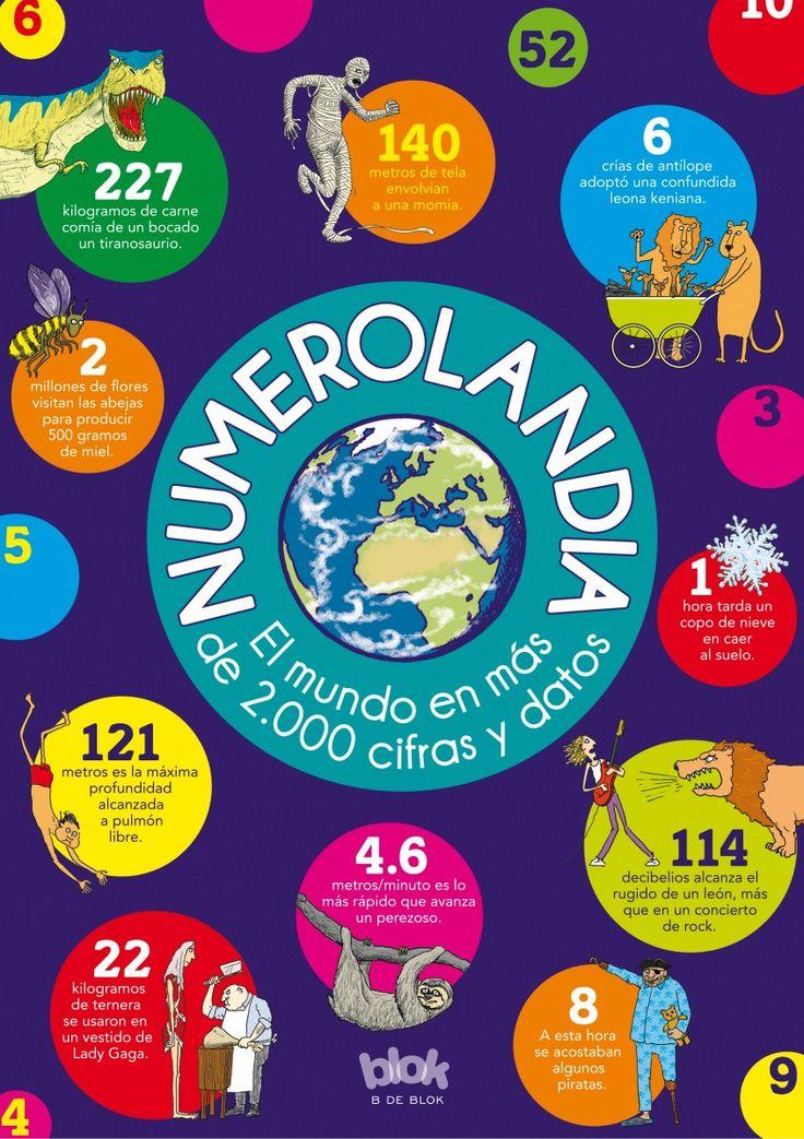 Numerolandia : el mundo en más de 2000 cifras y datos