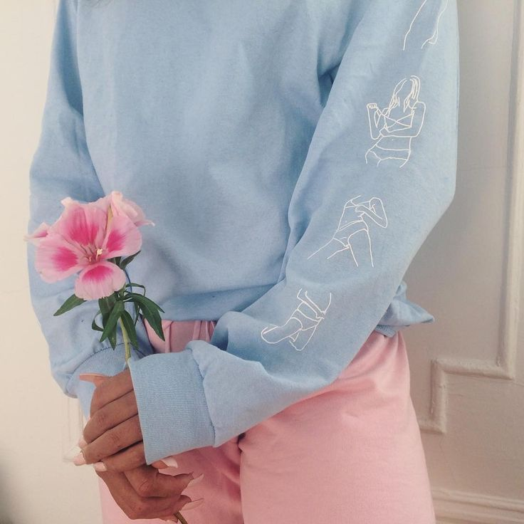 Эстетика картинки синий и розовый