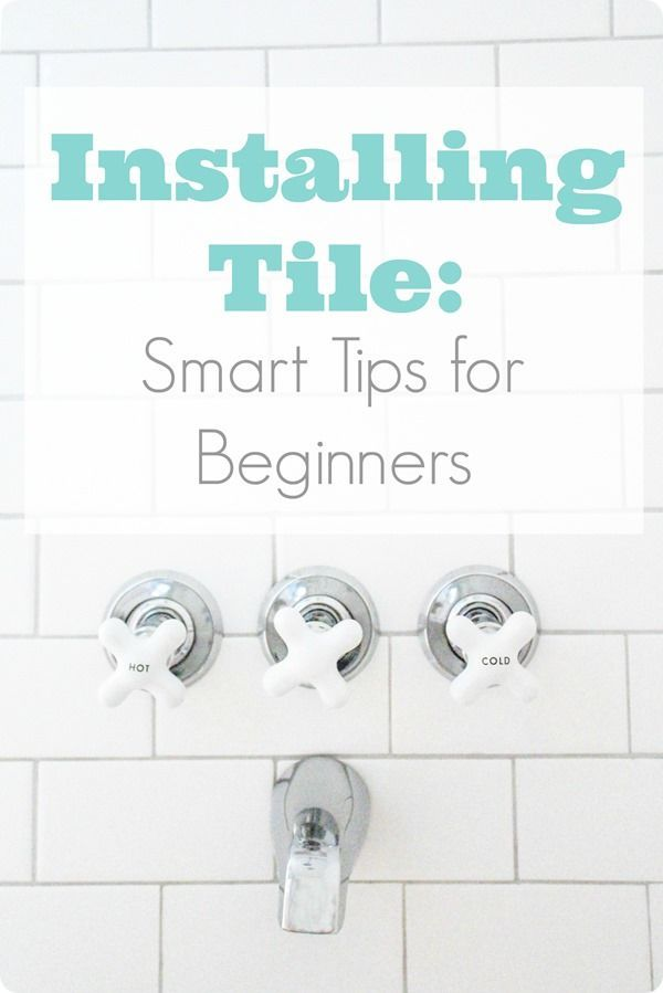 Want to save money on your renovation by installing tile on your own?  These simple tips will make your beginner DIY tile job look completely professional.