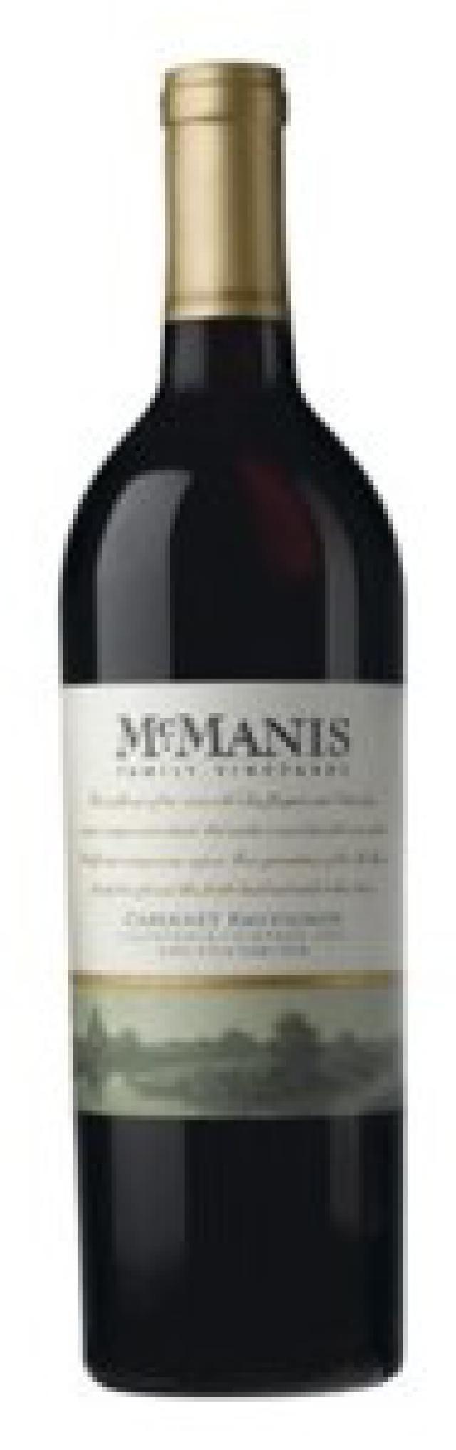 11 Great Cabernet Sauvignons for Under $10: McManis Family Vineyards Cabernet Sauvignon (California) $10