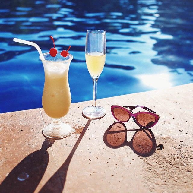 Cheers to the weekend! We can't wait to kick back and relax.