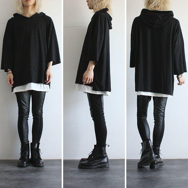 【albino】ビッグフードスモックパーカー - メンズスカートなどモード系ファッションの通販 albino