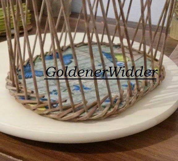 Плетение из газетных трубочек: Оплетаем фанерное дно, нижнее плетение и через край. Фанера.