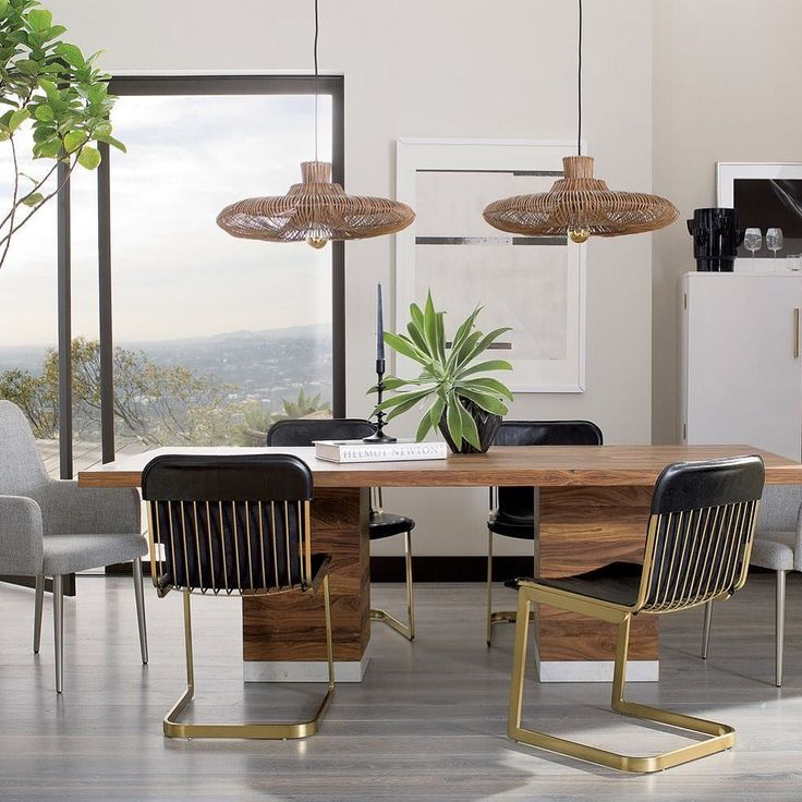 Awesome Itu0027s Party Time! Gather Around The Refreshingly Minimal CB2 Mateo Dining  Table. Unfussy Wood Photo