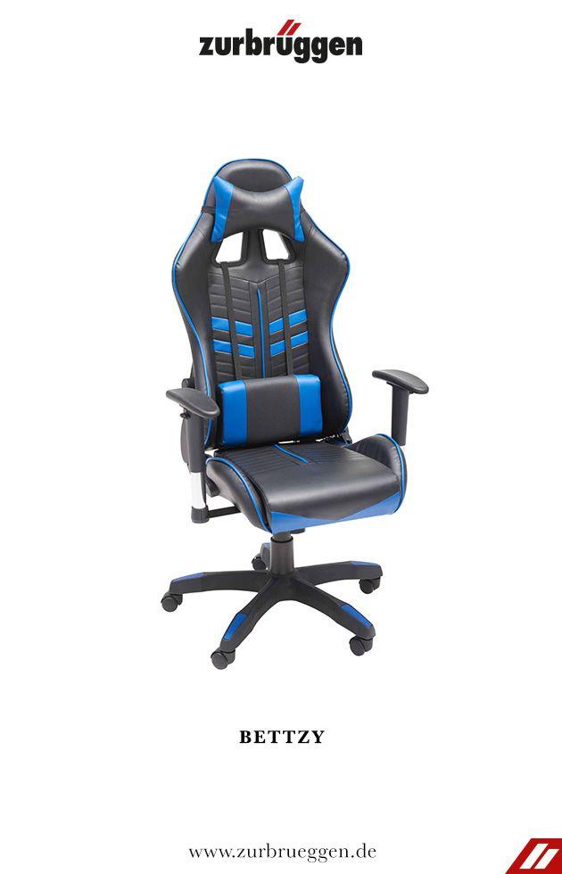 xora büro stuhl schwarz weiß
