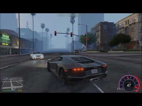 Gta 5 Lamborghini Aventador Mod Driving | PC Gamer