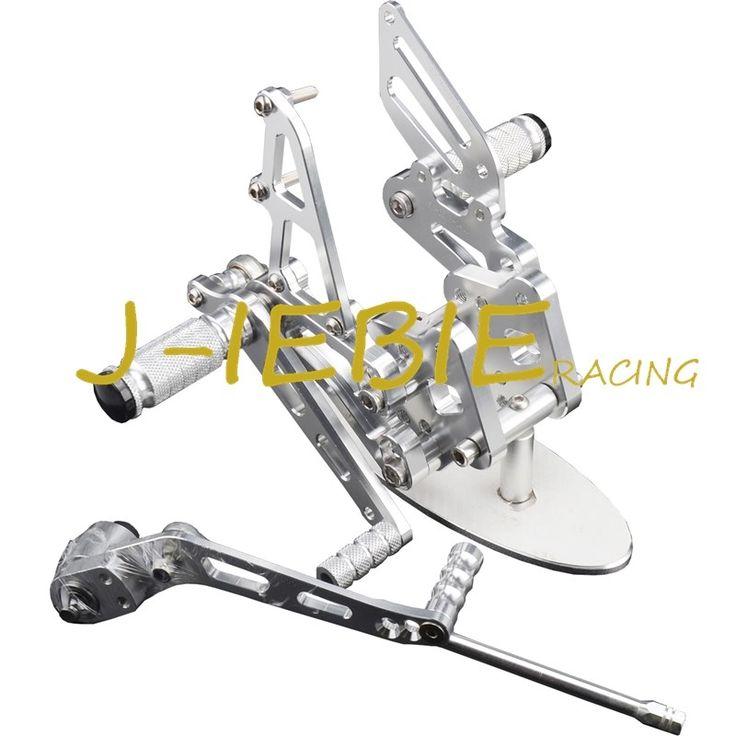 93.37$  Buy here - CNC Racing Rearset Adjustable Rear Sets Foot pegs For Suzuki GSXR 600 750 GSXR600 GSXR750 2006 2007 2008 2009 2010 K6 SILVER  #aliexpresschina