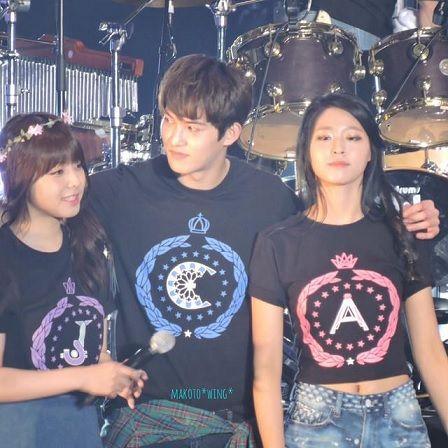 juniel, jonghyun and seolhyun