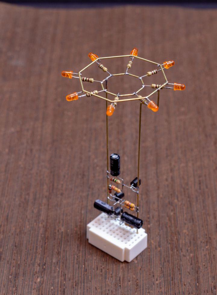 Octagon LED Flower – Mohit Bhoite