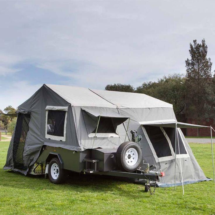 Outdoors Domain - Avoca Hard Floor Camper Trailer, $13,999.95 (http://www.outdoorsdomain.com.au/kampa-avoca-hard-floor-camper-trailer/)#outdoorliving #kampa # camping #trailer #outdoors #tent #adventure