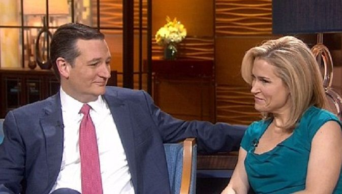 "Heidi Cruz Says Her Husband Should Be President Because ""He Loves Sunday Date Nights"" With Her"