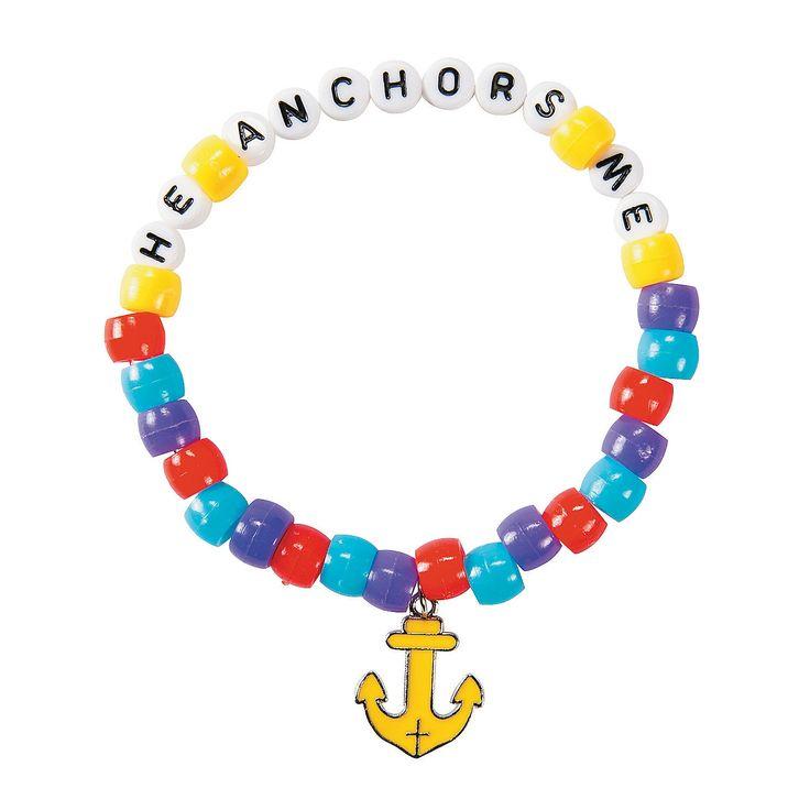 Under the Sea Beaded Bracelet Craft Kit - OrientalTrading.com