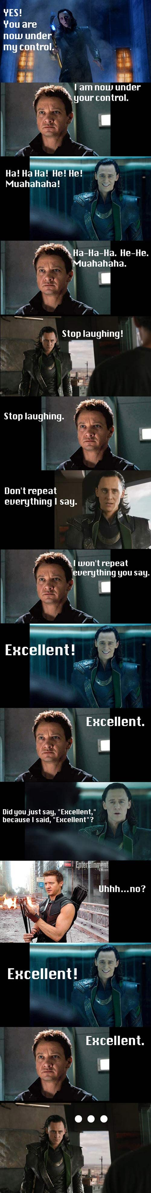 If you get this movie reference you are awesome... (Meet the Robinson's meet the Avengers!)