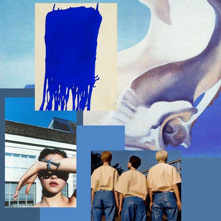 Inspiration from Rainy Copenhagen. Yves Klein, Self Service Magazine, Max Farago, Georgia o' keeffe