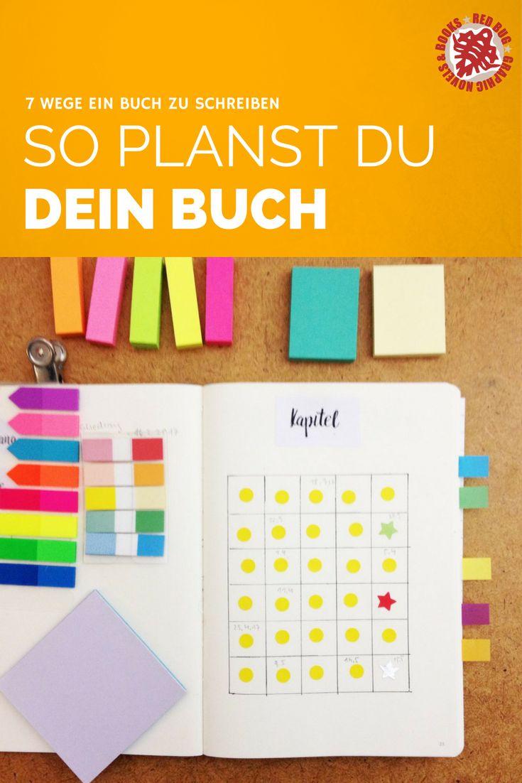 7 Wege ein Buch zu schreiben #6 Mit Planung – Red Bug Books Verlag. Tipps zum Lesen, Schreiben & Veröffentlichen