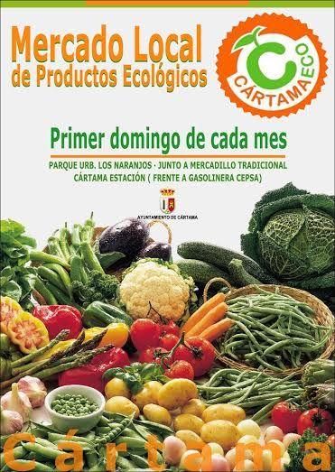 El primer domingo de cada mes visita el Mercado Local de Productos Ecológicos de #Cártama