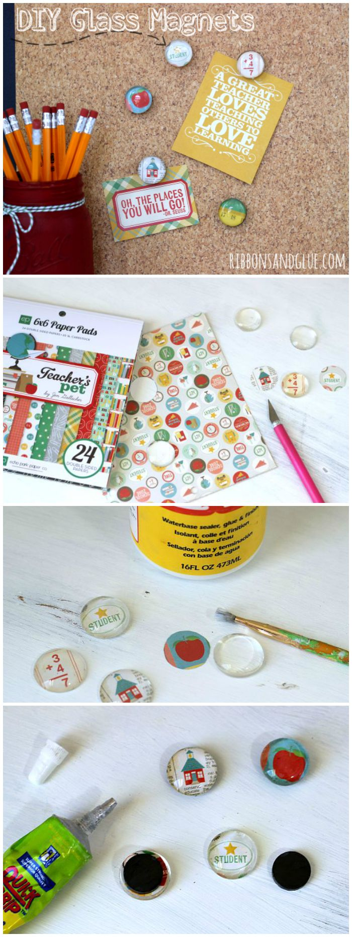 Buy magnets for crafts - How To Make Diy Glass Magnets