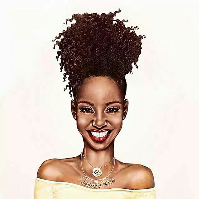 natural hair drawings tumblr wwwpixsharkcom images