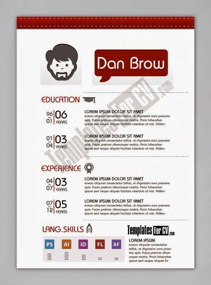 resume examples for designers